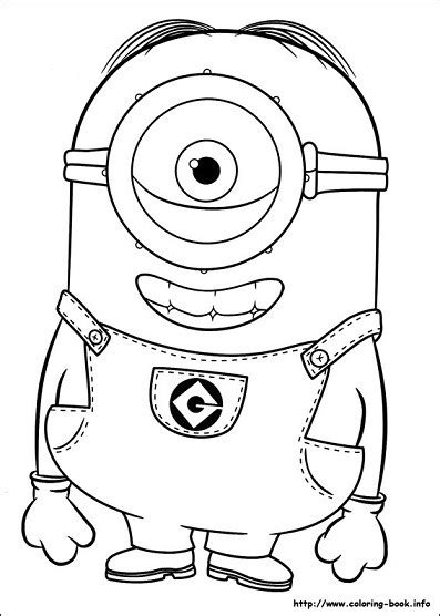 minion carl coloring page dibujos de minions para colorear todo peques
