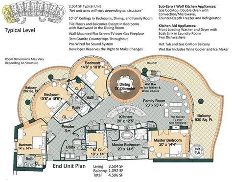 resort floor plans resort floor plans turquoise place floor plans floor plan fanatic