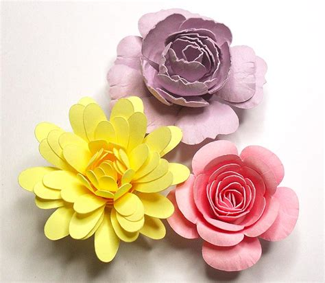 Flower Tutorials Paper - rolled flower tutorial