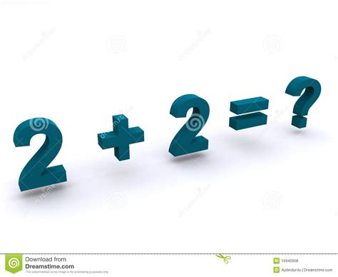 summing it up from one plus one to modern number theory books simple maths addition sum royalty free stock photos