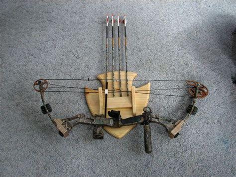 arrow archery bow and arrow display rack