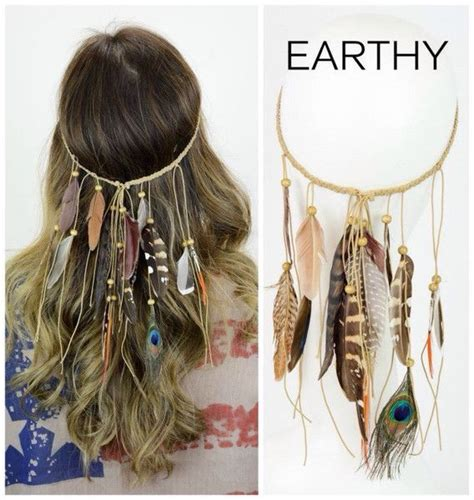 diy hippie hairstyles feathery hippie headband that you will love hippies and
