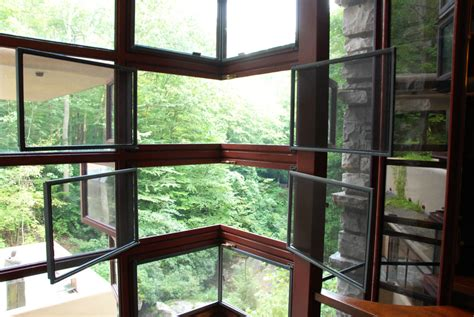 glass house fallingwater cbmcreative