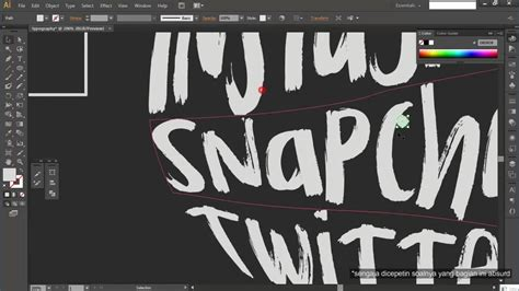 typography tutorial using illustrator tutorial how to make typography on adobe illustrator