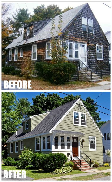 House Exterior Design Before And After by A Craftsman Style Bungalow Makeover In Maine By Sopo Cottage