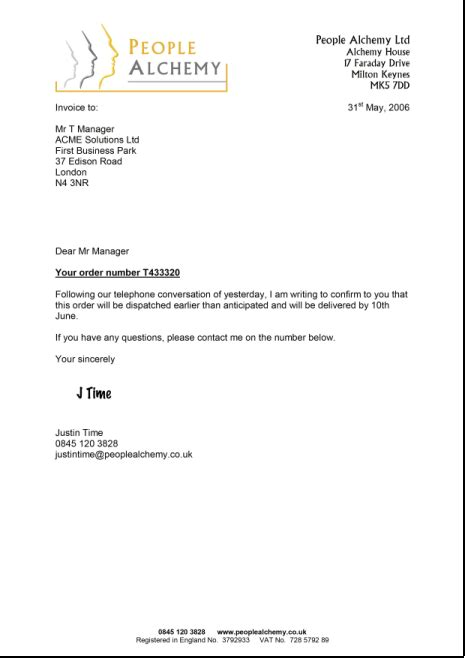 Formal Business Letter Template Uk Formal Business Letter Template Uk