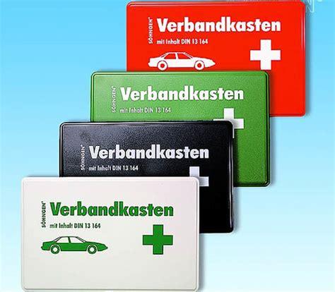 Verbandskasten Auto Kontrolle by Kontrollierter Kasten Auto Mobilit 228 T Badische Zeitung