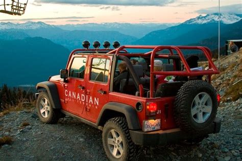 Jeep Hours Jeep 4x4 Tours Whistler Road Tours