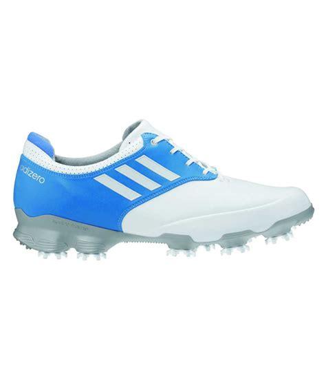 adidas adizero tour golf shoe white blue