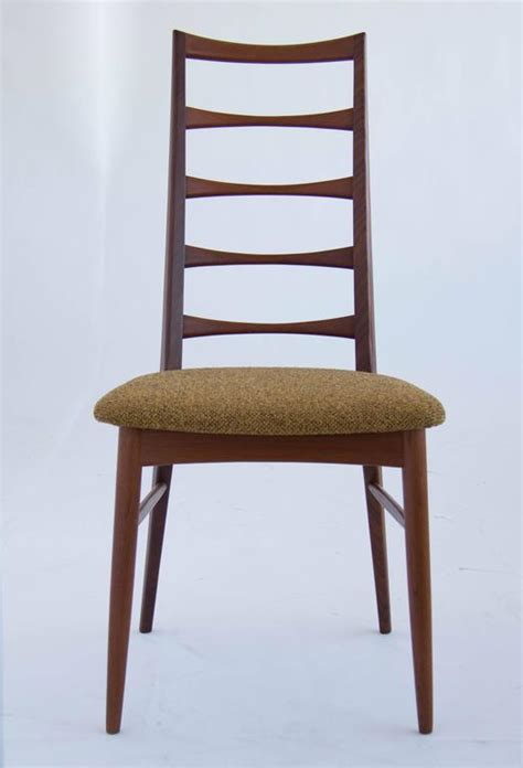 ladder back dining room chairs set of koefoeds hornslet teak ladder back dining chairs at
