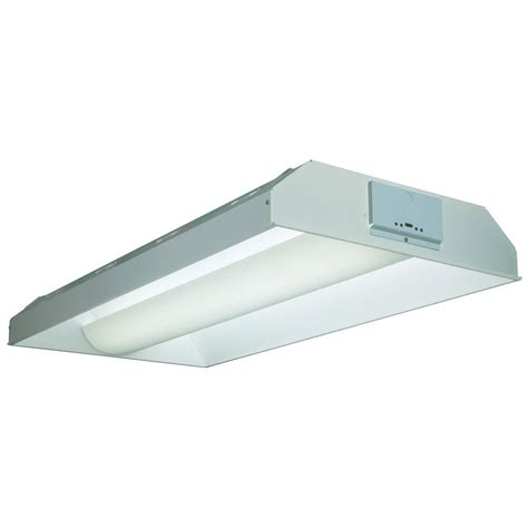 Lithonia Fluorescent Light Fixtures Lithonia Lighting 3 Light White Fluorescent Parabolic Troffer 2pm3ngb33218ld The Home Depot