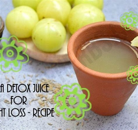 Detox Juices For Weight Loss India by Amla Juice For Detox And Weight Loss Recipe Bowl Of Herbs