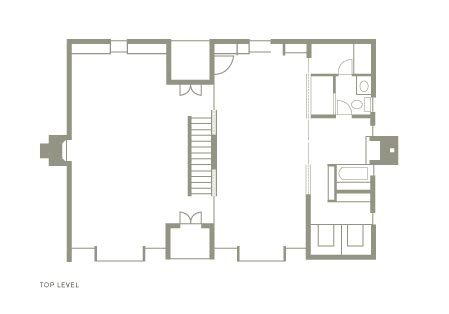 Yale University Art Gallery Floor Plan by Ad Classics Esherick House Louis Kahn Archdaily
