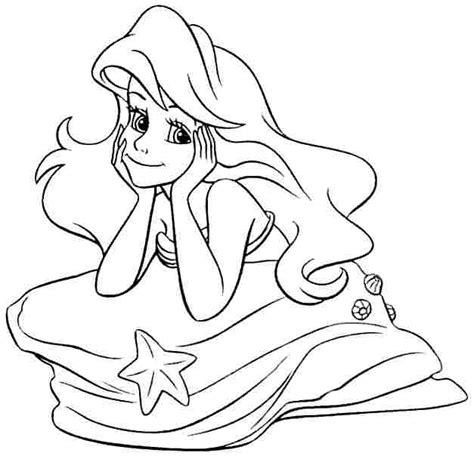 free coloring pages of princess ariel 5 best images of disney princess ariel coloring pages