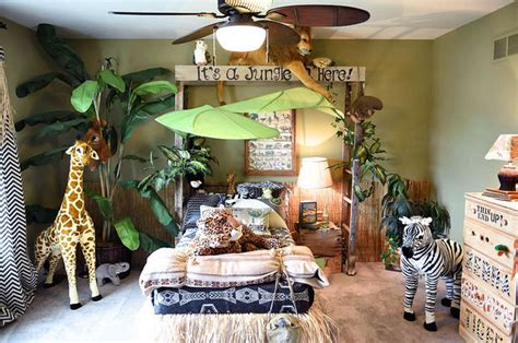 jungle themed home decor jungle themed bedroom hometalk