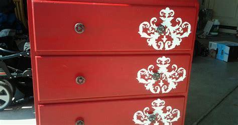 md designs painted dresser