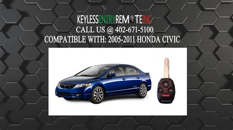2008 honda civic key battery how to replace honda civic key fob battery 2005 2006 2007