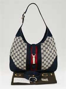 News Web Up Ebelle5 Handbags Purses by Gucci Beige Blue Gg Canvas Vintage Web New Jackie Shoulder