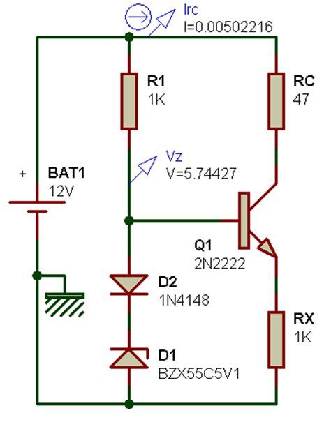 diode 1n4148 utilisation g 233 n 233 rateurs de courant constant
