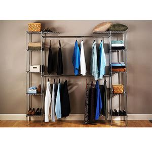 Free Standing Closet Systems Free Standing Closet System Expandable Closet Organizer