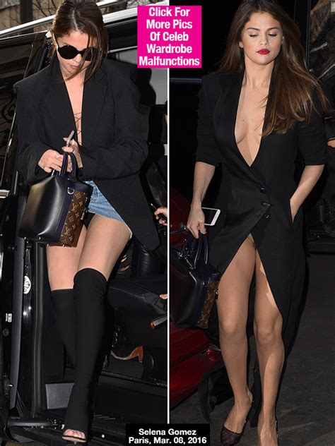 No More Wardrobe Malfunctions by Selena Gomez Flashes In 1 Day See