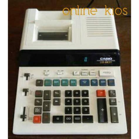 Kalkulator Casio Printing Dr 140tm jual casio dr 8620 kalkulator print printing calculator kios