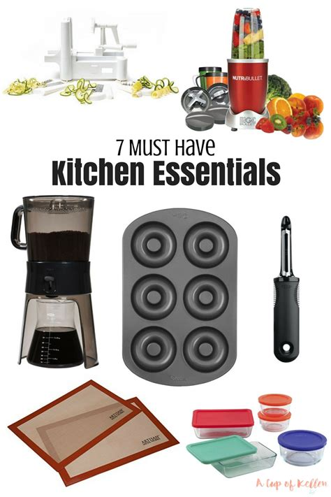 kitchen must haves 2016 7 must have kitchen essentials a cup of kellen