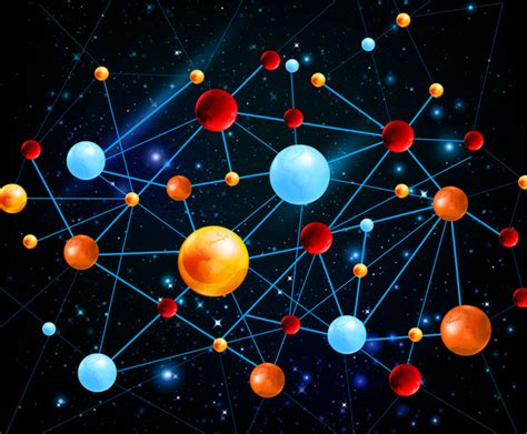 network pattern illustrator planet network galaxy free vector in adobe illustrator ai