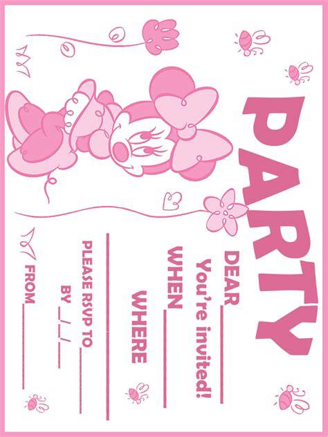 free printable birthday invite design bagvania free printable