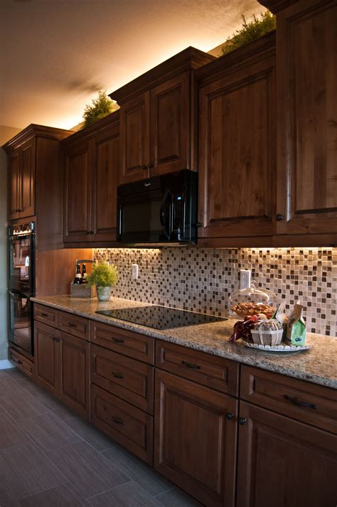 inspired led cabinet lighting inspired led lighting in traditional style kitchen warm