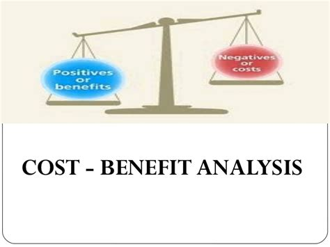 cost benefit analysis powerpoint template cost benefit analysis