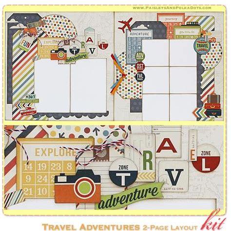 scrapbook layout kits paisleysandpolkadots com may 2013 predesigned scrapbook