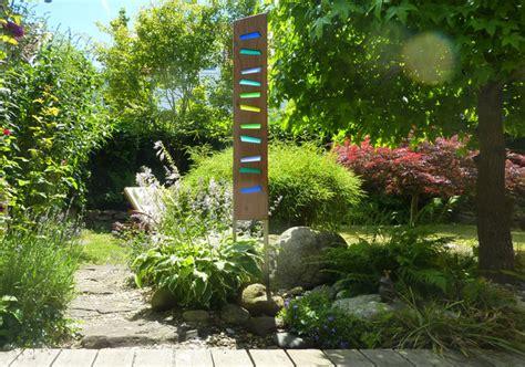 Garten Deko Einhorn by Skulpturen Gartenskulptur Aus Holz Und Glas Ein