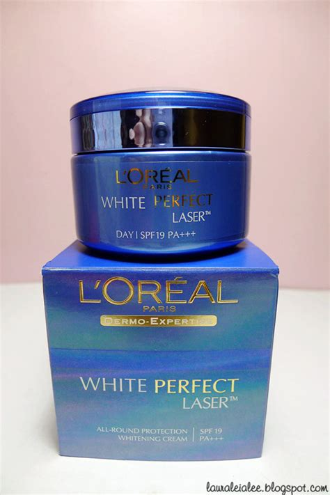 L Oreal White Laser review l oreal white series lauraleia