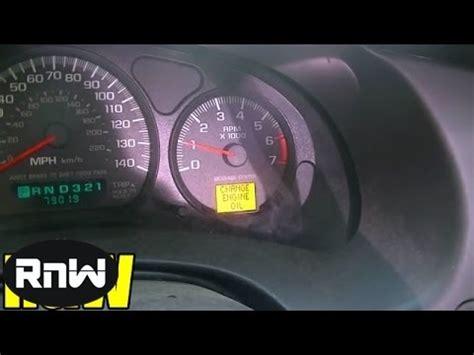 reset  change engine oil light   car youtube