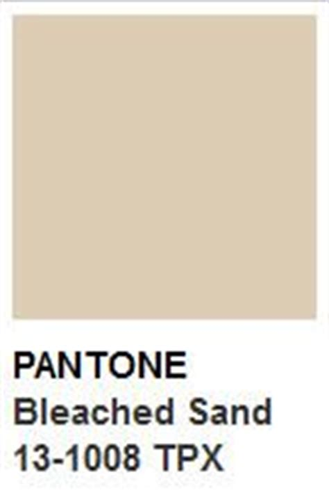 color of the day pantone s bleached sand pantone color colors pantone pantone