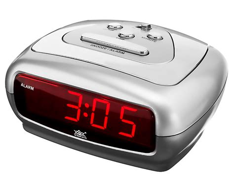 sharp led light alarm clock small alarm clock xonix snooze sharp digital led