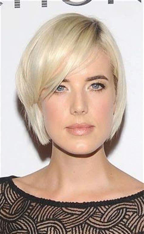 short hair with a rectangular face oblong rectangular face look book pinterest agyness