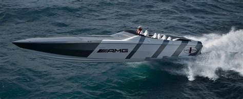 amg speed boat price 1 2 million 1 350 hp mercedes benz sls amg cigarette boat