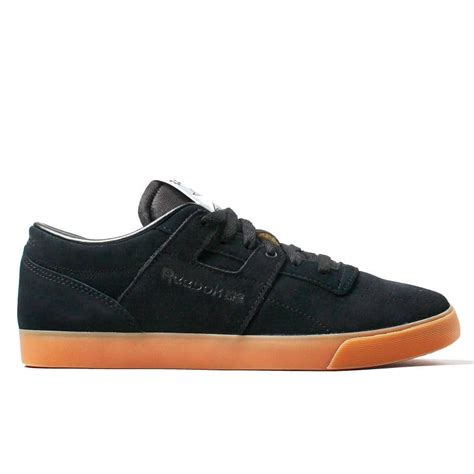 flat workout shoes reebok workout low fvs black flat grey natterjacks