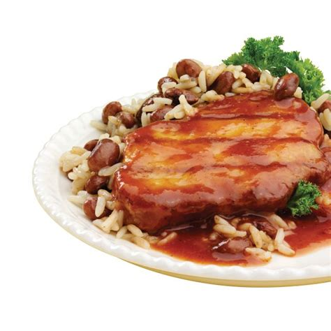 weight management food without chicken hmr 174 chicken with barbecue sauce with rice and beans