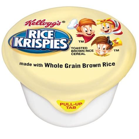 whole grain kellogg s cereal kellogg s rice krispies whole grain cereal 1 ounce pack