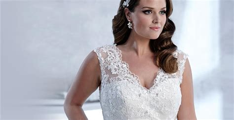 Wedding Hair For Plus Size Brides by Plus Size Wedding Dresses Bridal Gowns Accessories For