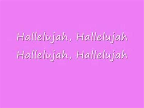 best version of hallelujah song hallelujah lyrics shrek song videolike
