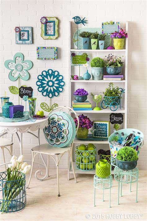 Hobby Lobby Garden Decor There S Only One Word For Our Aqua Collection Cheery
