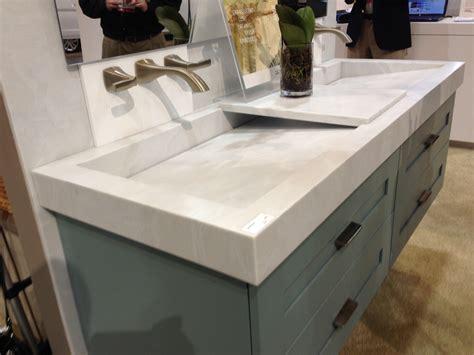 Rustic Bathroom Vanities For Vessel Sinks - trendy euro styling in us vanity tops international marble industries inc