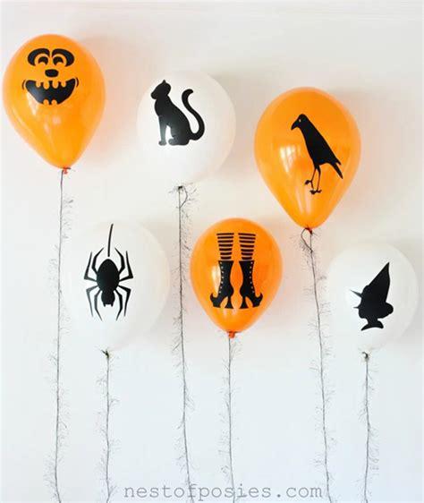 decoraciones de halloween 10 decoraciones para halloween que puedes hacer con globos