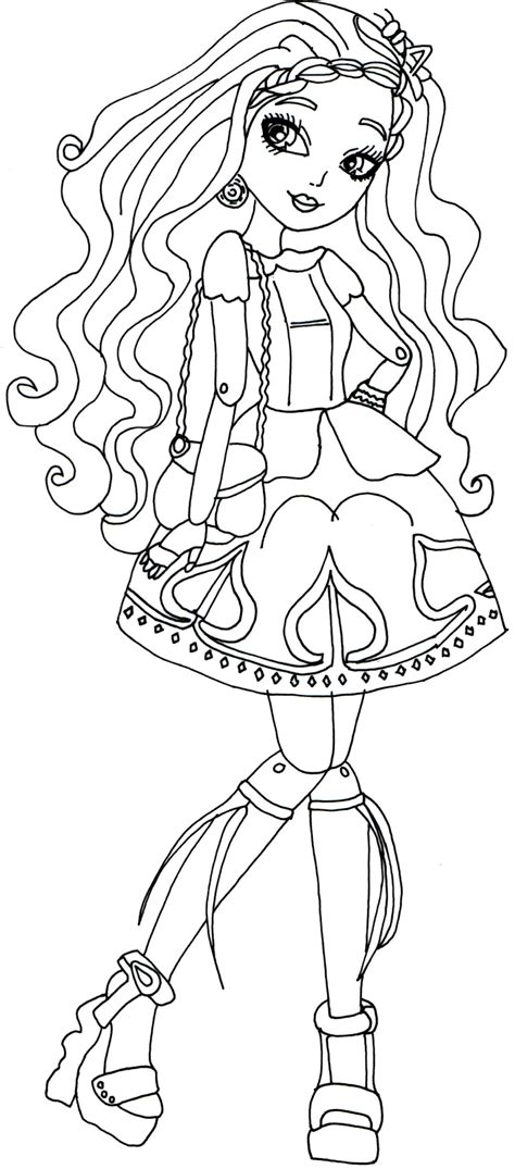 ever after high pet coloring pages ever after high coloring pages the sun flower pages