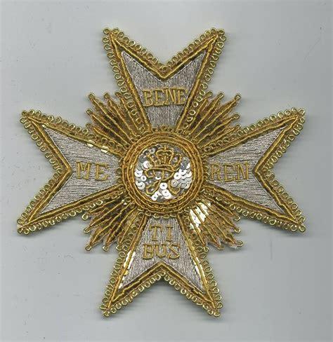 empirecostume wurtemberg ordre du m 233 rite militaire 1er type plaque de grand croix
