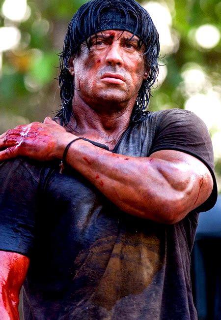 Sylvester Stallone In Rambo 4 by Sylvester Stallone Childhood Photos Arnold Schwarzenegger